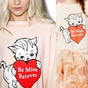 Wildfox Valentine's sweater